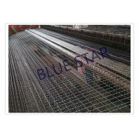 Galvanized / Carbon Steel Wire Mesh Single / Double Intermediate Weave Pattern Manufactures