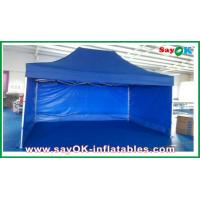 Aluminum / Iron Frames Gazebo Replacement Canopy 3 x 4.5m With 3 Sidewalls Manufactures