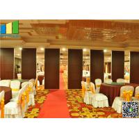 Cheap Restaurant Interior Acoustic Movable Partition Walls for sale