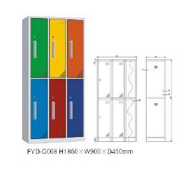 China Multifunctional compact steel locker/shower cabinet room for wholesales,2/3/4/5/6/8/9 door on sale