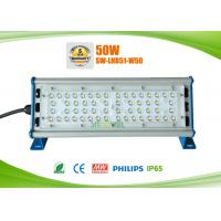 Linear design IP65 50w LED warehouse rack lighting, CRI over 80Ra Manufactures