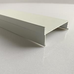 Sandblasting T4 Powder Coated Aluminium Profiles For Windows Manufactures