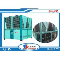 China Air Cooled Screw Low Temperature Chiller Energy Efficiency 140Hp R410A on sale