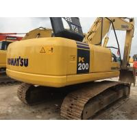 Used Crawler Hydraulic Excavator Komatsu PC200-7 3200 Hours Under Good Condition Manufactures