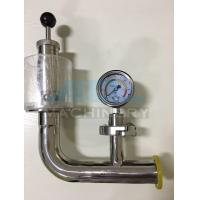 Air Pressure Relief Valve with Manometer for Fermentation Tank Pressure Relief Valve Manufactures