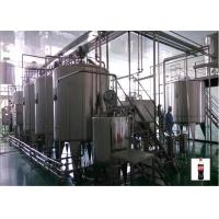 Light Pasteurized Milk Processing Line , Small Scale Juice Production Line