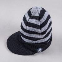 2017 Winter knitting direct factory supplier 100% Acrylic 20*22cm weight 100g with brim jacquard Fashion Beanie Hats Manufactures