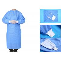 Operating Room Sterile Disposable Surgical Gowns Nonwoven 3 Anti Manufactures