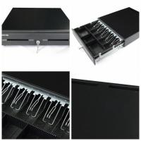 Cheap Retail Market Restaurant Metal Cash Drawer Pos 16 Inch RS232 5 Bill two media slots 400E2 for sale