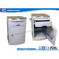 (GT-TA036-01) Hospital Beside Cabinet for Hospital Room with Castors with Stainless Steel on The Top Manufactures