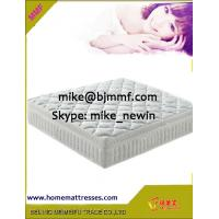 Pocket Spring Mattresses with coconut fiber mattress topper Manufactures