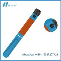 China Plastic Materials Disposable Insulin Pen With Insulin Carrying Case on sale