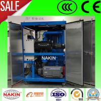 Double Stages Vacuum Transformer Oil Purifier,Oil Recycling Machine Manufactures