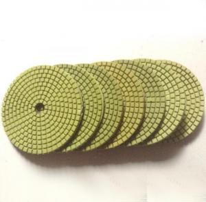 Economic flexible green wet polishing pads Manufactures