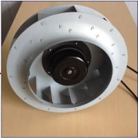 Aluminum Die Cast Ec Centrifugal Exhaust Fan Blower Backward Curved 280*50 mm Manufactures