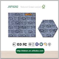 Buy cheap embossed decorative 3d wall panel from kings fireproof waterproof paintable from wholesalers