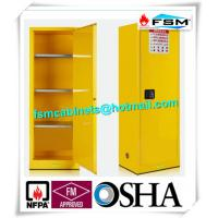 Flammable Chemical Safety Storage Cabinets 22 Gallon With Single Door Manufactures