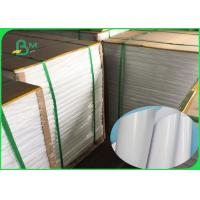 Food Grade PE Coated 50GSM Craft Paper White & Brown No Harm To People Manufactures