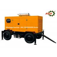 Emergency Standby mobile electric generator Set 375KVA  With Soundproof Canopy Manufactures
