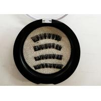 Synthetic Double Magnetic Eyelashes Handmade High Standard Natural Long Manufactures
