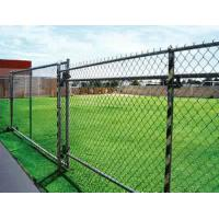 Durable PVC Chain Link Fencing 1.8mm - 5.0mm Wire Gauge Diamond Mesh Wire Rolls Manufactures