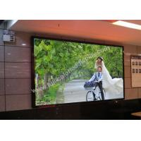 Cheap Ultrathin 1/26 S RGB HD LED display screen P1.935 480x480mm die-casting cabinet for sale