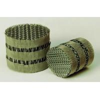 China Metal Woven Structured Packings,Metal Wire Gauze Packing,Tower Paddings on sale