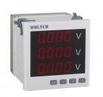 Input 0-100V Programmable Digital Electric Meter 120*120mm Standard PT Connected Manufactures
