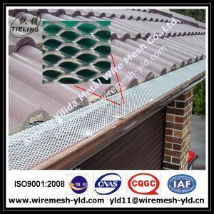 aluminum expanded metal gutter guard,gutter mesh manufacturer Manufactures