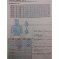 Air pipe head with manuall-closing device Cylindrical float FKM type Manufactures