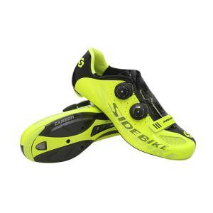 Pantalon Fluorescent Cycling Shoes No Slip , Anti Abrasion Bike Bicycle Shoes Manufactures