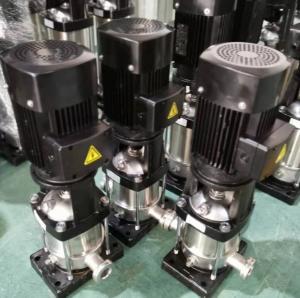 High Efficiency Motor Vertical High Pressure Water Pump Water Pressure Boosting Manufactures