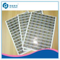 Printed Self Adhesive Labels , Household / Industry / Chemicals Stickers Manufactures