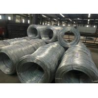 ISO Electro Galvanized Wire For Wire Hanger , Galvanized Baling Wire Manufactures