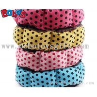 China High Quanlity Pet Products Polka Dot Pattern Pet Bed for dog cat on sale