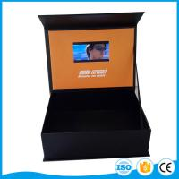 Cheap 7 Inch Tft Color Screen Lcd Video Business Cards / Video Booklets Built In 1400mah Battery for sale
