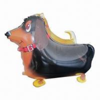 Walking dachshund dog balloon, with weighted feet attached Manufactures