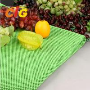 Workshop Floor / Supermarket PVC Fruit Mat Black Vegetable Mat Width 164CM Manufactures