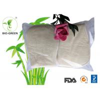 Waterproof Charcoal Bamboo Inserts , Soft Breathable Bamboo Diaper Inserts Manufactures