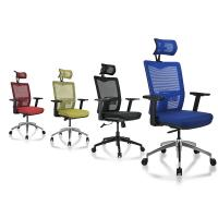 Customized Color Mesh Conference Room Chairs SGS Certification For Computer Work Manufactures