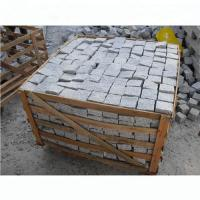 Light Silver Granite Effect Paving Slabs Corrosion Resistant Design Manufactures