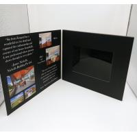 7 Inch Europe Style Lcd Video Card / Laser Cut Wedding Lcd Invitation Card Manufactures