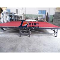Strong and durable portable folding stage with wheels Manufactures