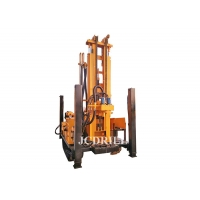 Track Mounted 180 Meters 55kw Portable Water Well Drilling Rig Manufactures