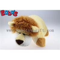 Pillow Decorative Pillows in Plush Stuffed Lion Toy Shape Manufactures