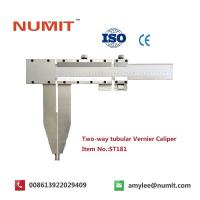 Large 0-2500mm Long Jaw Vernier Caliper With Steel Sliding Pin Handles Manufactures