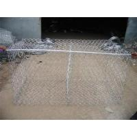 Economical Gabion Stone Cages , Corrosion Resistant Rock Basket Retaining Wall
