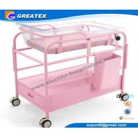 Simple Style hospital baby Cot / Trolley / carriage With Adjustable Height Manufactures