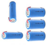 18650 3.7V Security Alarm Batteries Pack 1300mah For Alarm System , CE UL Approved Manufactures