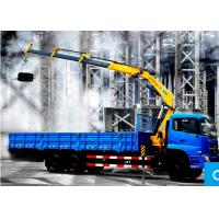 Knuckle Boom Truck Crane / 10 ton mobile crane XCMG  For City Construction Manufactures